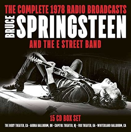 but this was my christmas present arriving in the mail from england on christmas eve a fifteen cd set containing five epic springsteen concerts from - Bruce Springsteen Christmas Album